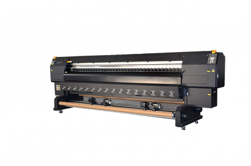 3.2m Sublimation Printer Resolution 1440dpi with Dual Epson Dx5 Head