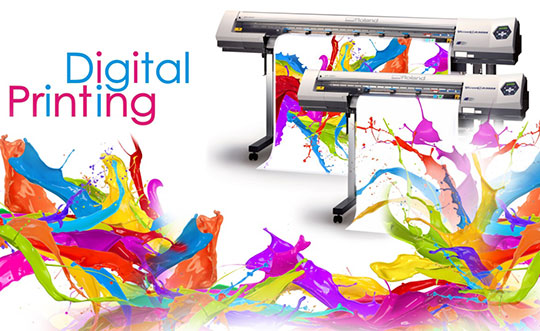 Digital printing machine, ink savings coup!!!
