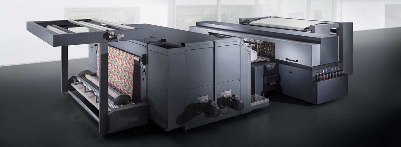 durst new Alpha Series printer for textile and sublimation transfer