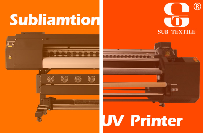 What's different between UV printer and sublimation printer?
