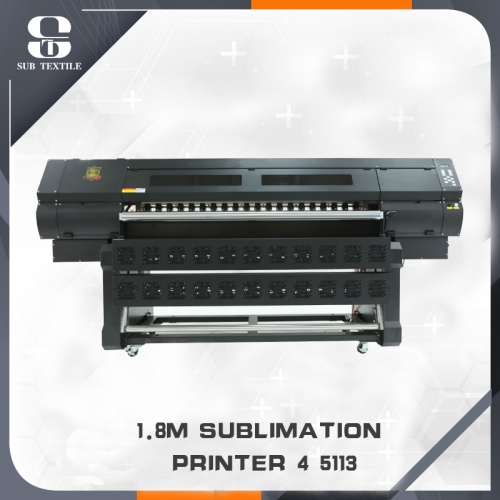 Large Format Epson 1.8m with 5113 Head Sublimation Printer