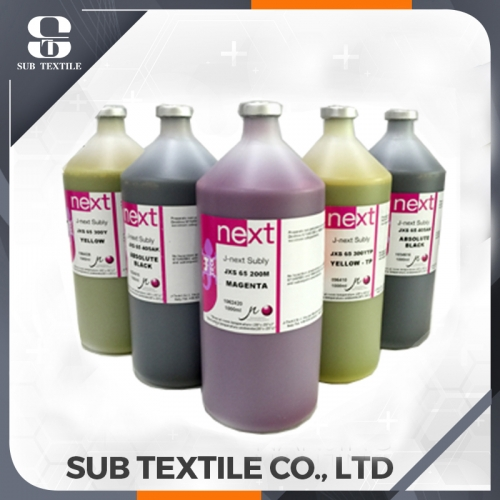 J-Next Subly JXS-65 Italy Inkjet Dye Sublimation Ink with Chips For Digital Sublimation Printing
