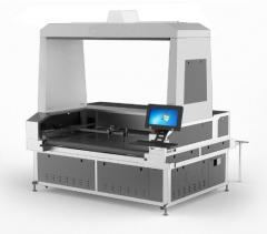 Vision Laser Cutter Single Head 1.8x1m for sublimation transfer printing textile