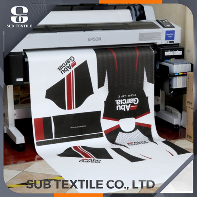 100gsm Hi-sticky Sublimation Transfer Paper For Sublimation Inkjet Printing